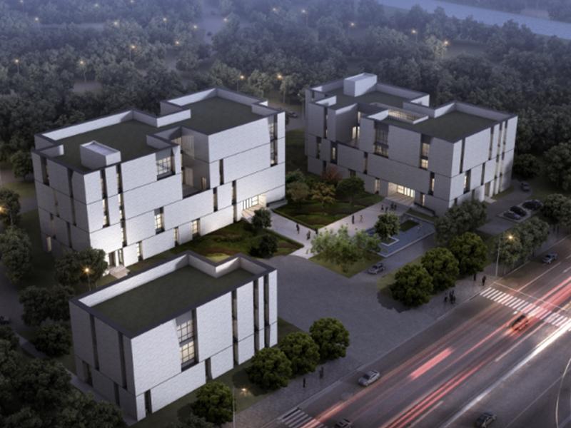 [上海]集成电路系统产业园区建筑设计方案文本图片