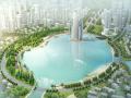 [辽宁]抚顺经济开发区核心区南湖景观设计(自然生态,现代)