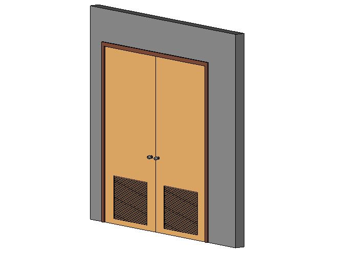 bim软件应用-族文件-变压器室门