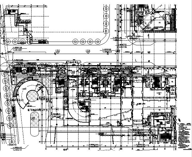[浙江]地下一层停车场建筑施工图(出图图纸)_3