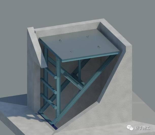 电梯井施工操作平台