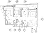 [海南]三亚时代海岸蓝色维也纳风格C-2户型施工图