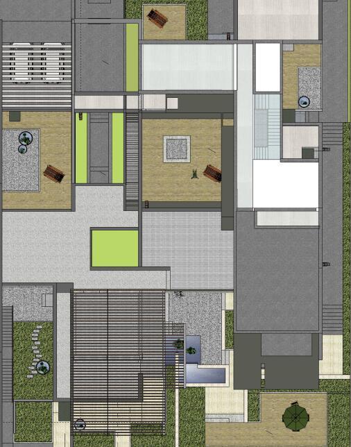 [江西]知名地产南昌青山湖名邸景观设计方案(PPT+218页)-室内平面