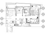 [海南]西班牙风格样板间室内装饰施工图(附效果图)