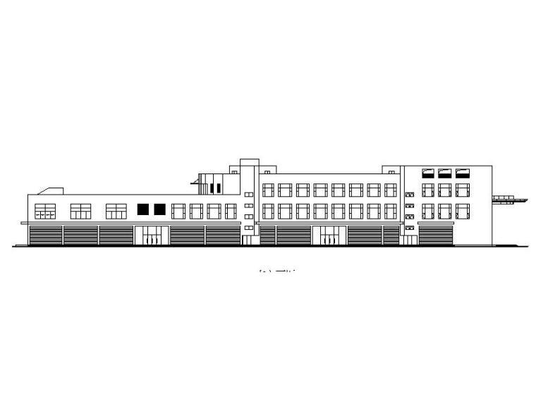 大型商场商店超市施工图(93套施工图)