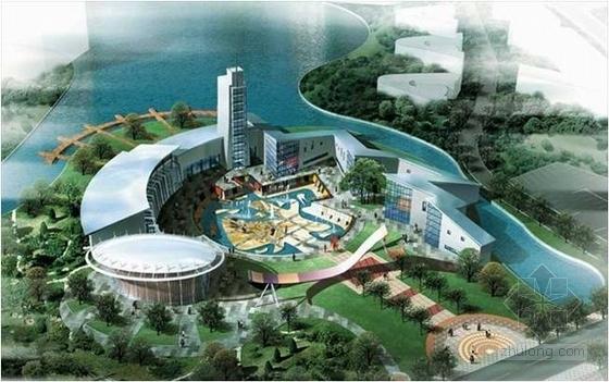 大型文化创意旅游区规划设计效果图