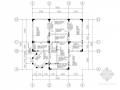 三层坡屋面框架别墅结构施工图