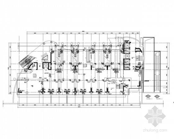 喷水广场给排水资料下载-[四川]国际性广场给排水图纸(办公、商业、住宅、裙楼)