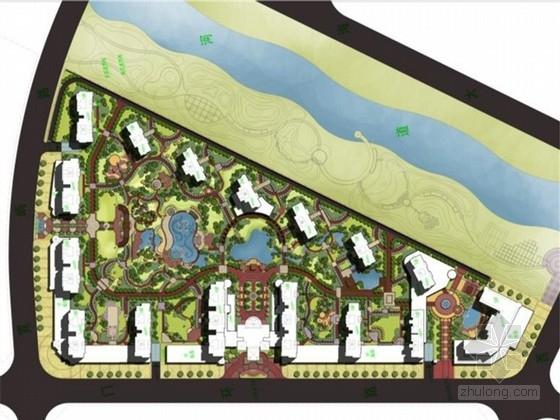 [温州]洞头县经典法式风格高档居住区景观设计方案(国外著名设计院所)
