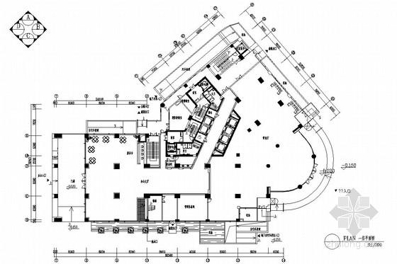 [南京]最佳地标性写字楼大厦现代风格室内装修图(含效果图)