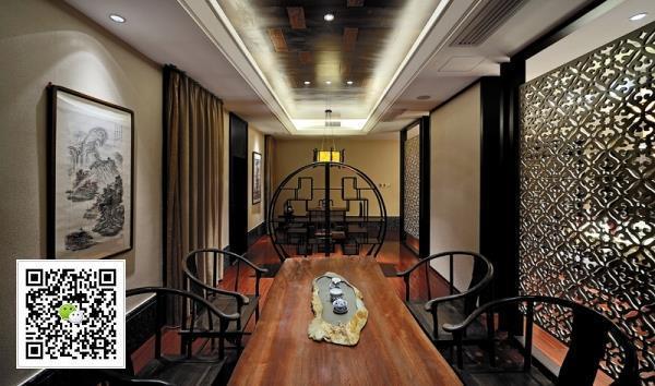 现代风格茶楼设计案例_2