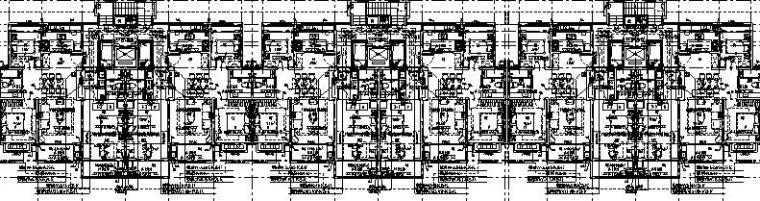 上海商业住宅及配套相关设施电气施工图