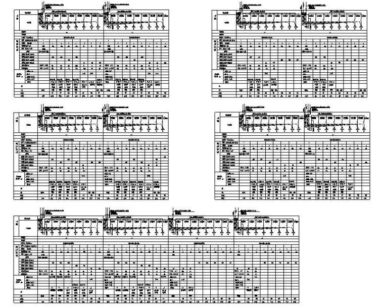 天津市蓟县安置房商业街电气施工图