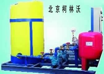 乙二醇定压补水机组的选型