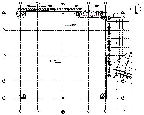 1~15层峡谷幕墙施工图(CAD,整套)