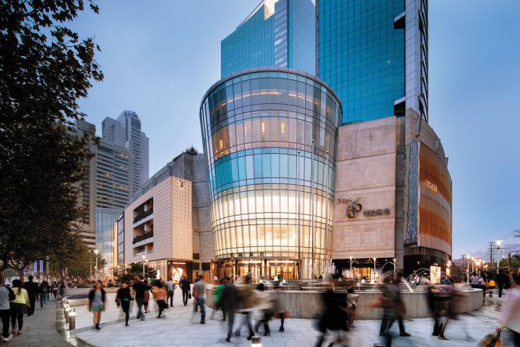 [上海]恒隆广场盟可睐Moncler专卖店设计施工图(附官方摄影图)-01.建筑 (2)
