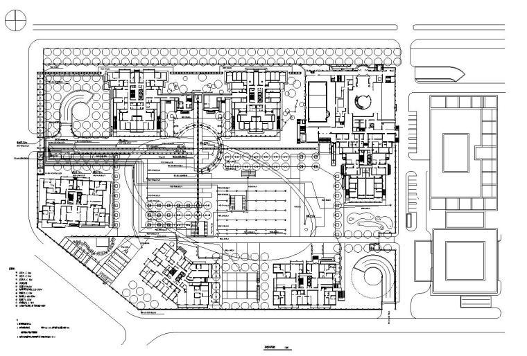[上海]华庭嘉园居住区园林建筑全套施工图设计(电气设计)