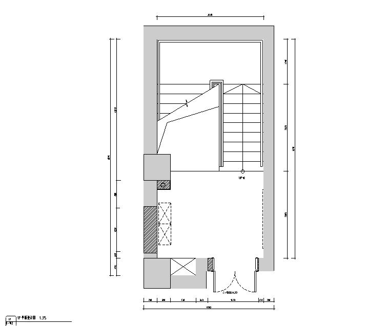 天域阁混搭风格中餐厅设计施工图(附效果图)