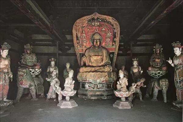 中国现存的木结构古建筑前50座,看一眼少一眼了~_3