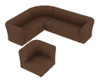 舒适沙发3D模型下载