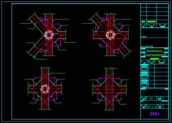 地下空间基坑支护工程大样CAD图集_2