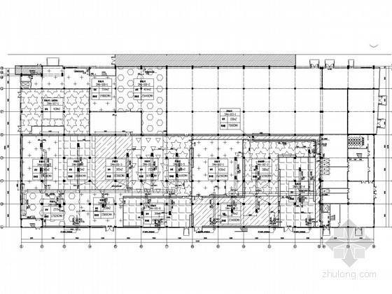 [江苏]大型工业厂房空调通风及防排烟系统设计施工图(洁净空调)