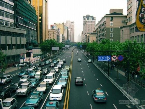 [滁州]市政道路施工图设计258页(含交通排水照明)