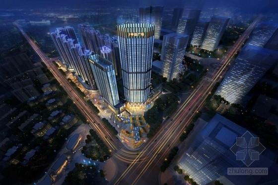 [成都]超高层新都市风格塔式住宅建筑设计方案文本(含CAD)
