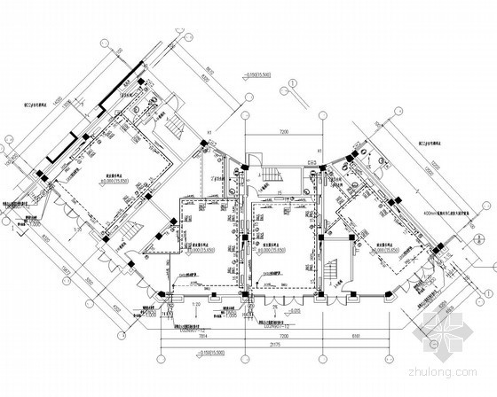 [北京]住宅安置工程散热器采暖通风系统设计施工图(含幼儿园)