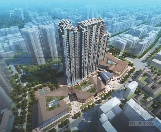 [四川]34层高层商住楼建筑设计方案文本