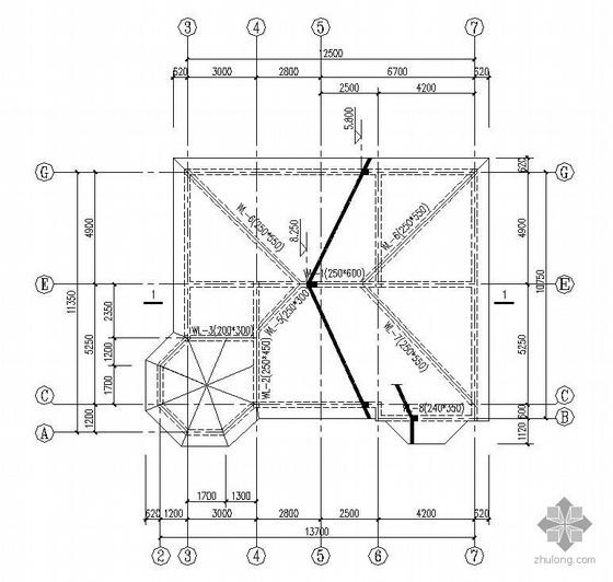 某2层砌体结构别墅(带地下室)施工图