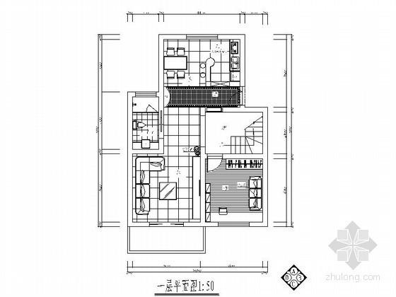 [浙江]某双层洋房室内装修图