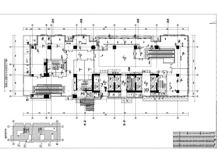 [深圳]高层商业办公楼给排水消防施工图设计