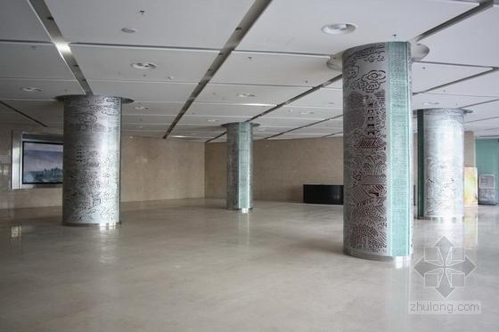 [杭州]市中心核心地带重点惠民工程文化中心装修图(含实景图) 大厅实景图