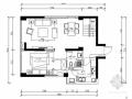 [北京]花园小区130平简欧风格跃层样板间CAD装修施工图