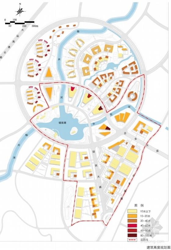 [山西]城市核心地块工业园区规划设计方案文本-城市核心地块工业园区规划分析图