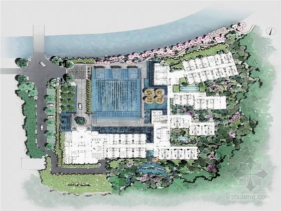 [江西]雅致山水景观度假酒店景观规划设计方案(优秀设计公司)