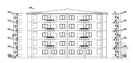 某五层住宅楼建筑结构方案图(毕业设计)-2