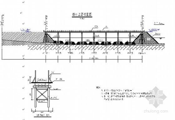 浅水围堰施工方案资料下载-[湖北]跨河特大桥深水基础施工方案