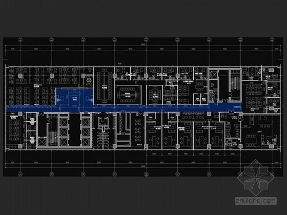 [北京]新中式大氣高貴石油投資公司辦公室設計方案(含效果圖)