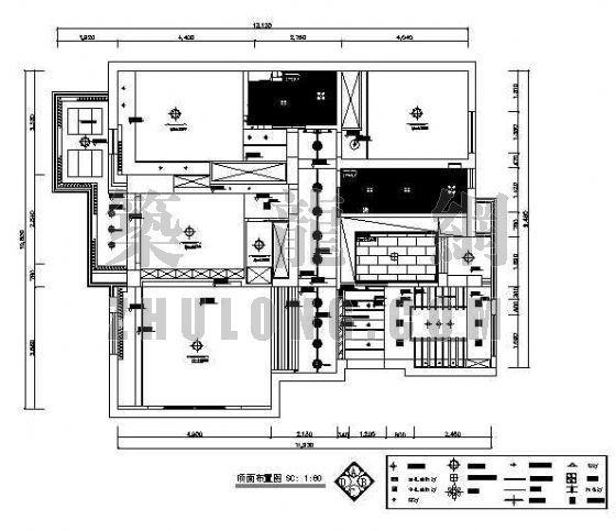 三室两厅两卫装修图-2