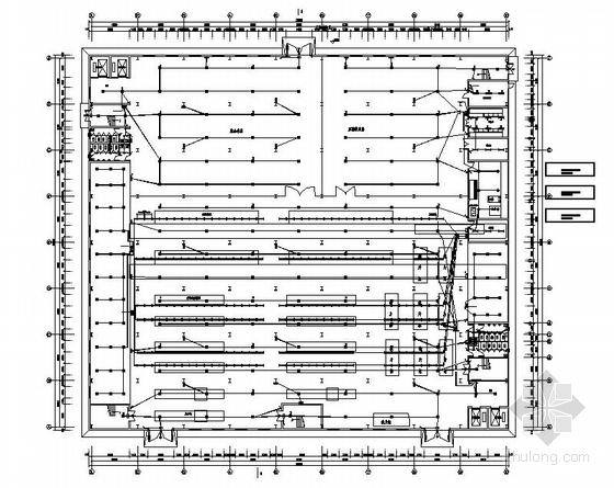 某服装厂全套电气设计图