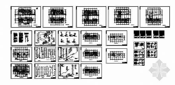 高层办公楼图纸及设计计算书