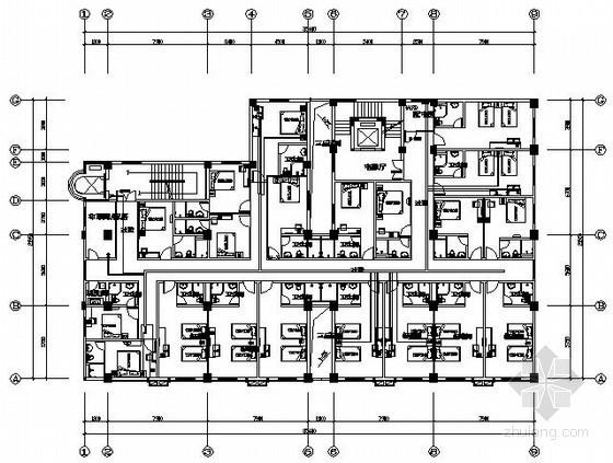 [海口]酒店装修弱电系统施工图纸