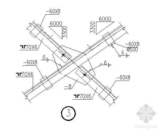 天窗架平面布置图及节点详图