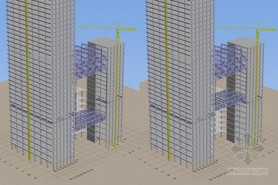 [湖北]文化广场工程钢屋盖整体提升方案汇报(83页 附图)