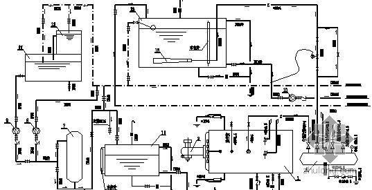 某燃油锅炉房设计图纸