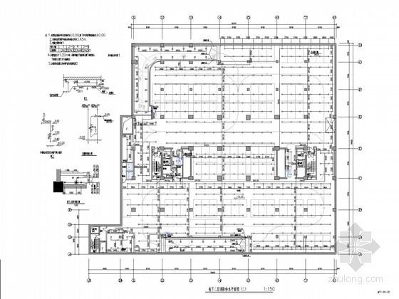 [北京]知名酒店会所给排水施工图(直饮水系统 中水回用系统)