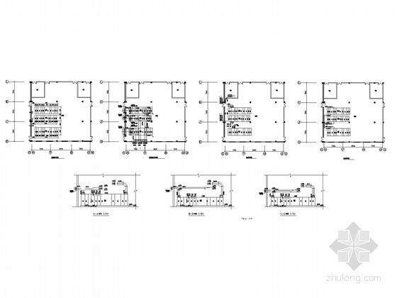 [福建]某制药车间洁净空调及防排烟施工图(甲级设计院出品)