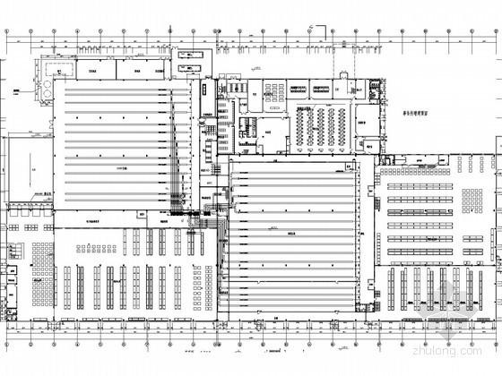 [江苏]工厂新建工程空调通风防排烟系统设计施工图(工艺性空调)